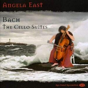 Angela East -bach cello suites