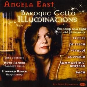 Angela East -baroque cello illuminations
