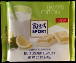 Ritter Sport Buttermilk Lemon