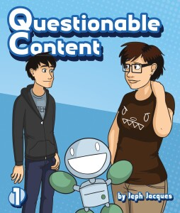 cover of Questionable Content Volume 1 book