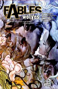 cover art for fables volume 8, wolves