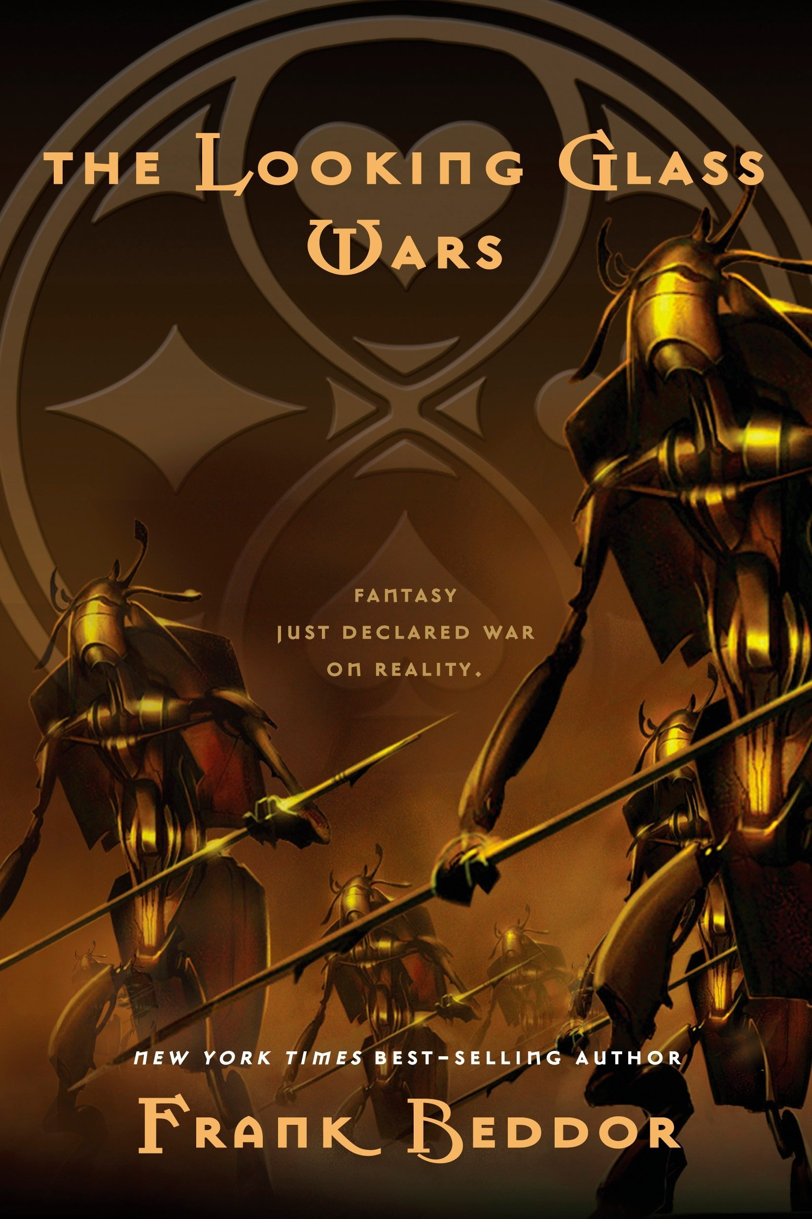 cover art for The Looking Glass Wars