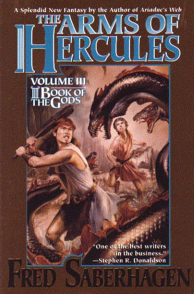 book cover, the arms of hercules