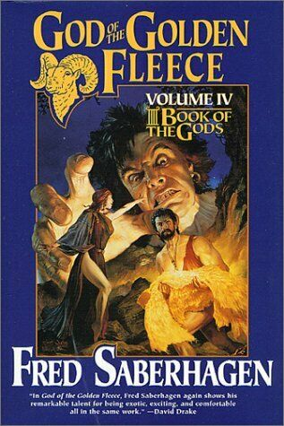 book cover, god of the golden fleece