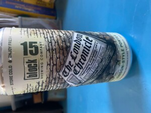 can of The London Chronicle porter