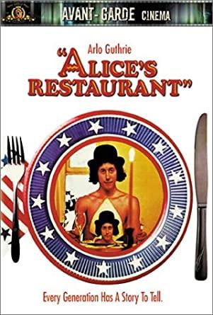 DVD cover art for Alice's Restaurant