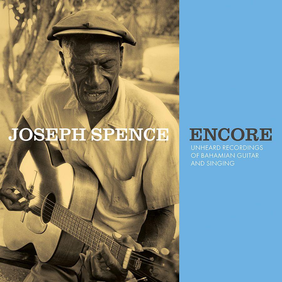 cover art for Joseph Spence's Encore
