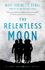 cover art for The Relentless Moon