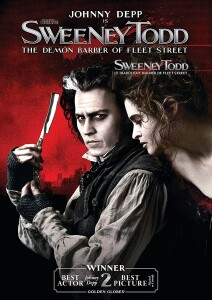 cover art for Sweeney Todd