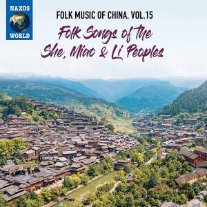 cover art for Folk Music of China Volume 15